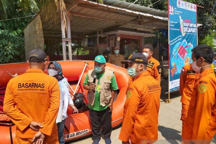 Hari Kesiapsiagaan Bencana, KP2C gelar simulasi evakuasi banjir