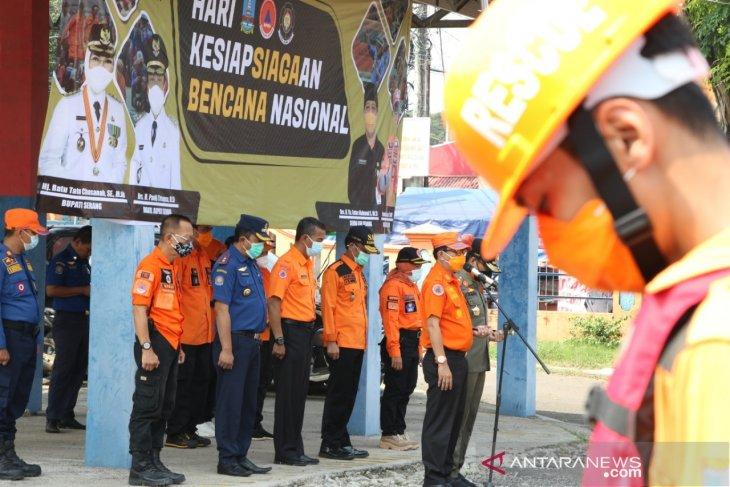 BPBD Kabupaten Serang manfaatkan HKB simulasikan penanganan bencana