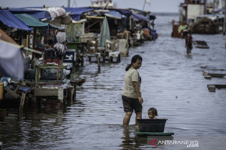 BMKG peringatkan kemungkinan banjir rob di pesisir Belawan