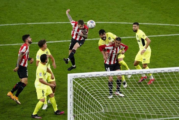 Atletico Madrid terpeleset di kandang Athletic Bilbao