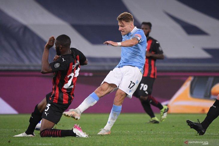 Lazio tekuk AC Milan 3-0, buka harapan Liga Champuons