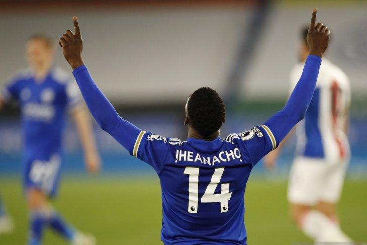 Iheanacho antar Leicester taklukkan Crystal Palace 2-1