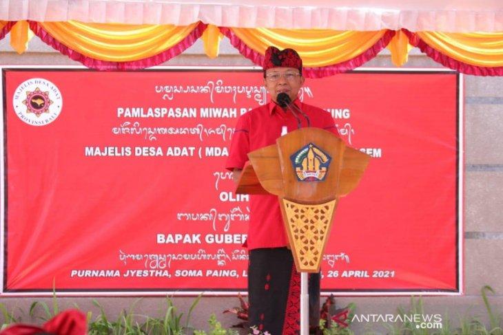 Gubernur : 696.356 warga Bali telah divaksinasi COVID-19 tahap pertama