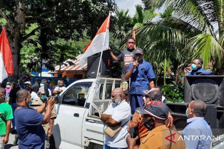 Massa pendukung desak pasangan HEMAT segera dilantik