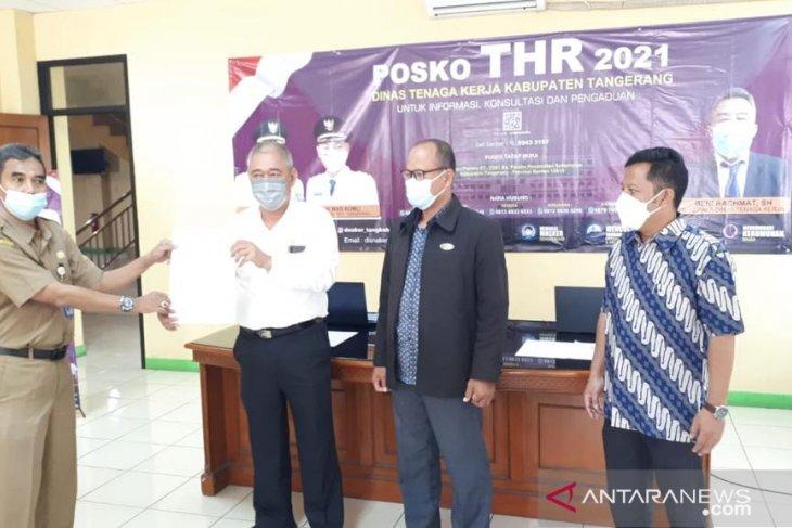 Disnaker Tangerang terima 50 aduan terkait permasalahan THR Lebaran