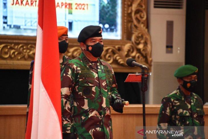 Panglima TNI dapat laporan kenaikan pangkat 34 Pati TNI