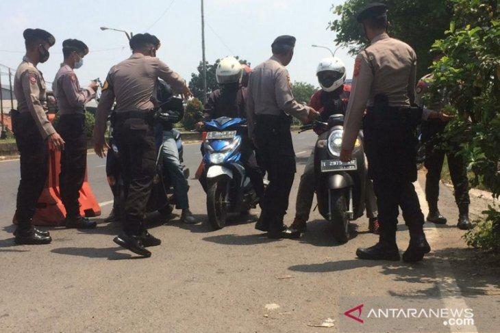 Polisi perketat arus mudik Lebaran dari Jakarta ke Karawang