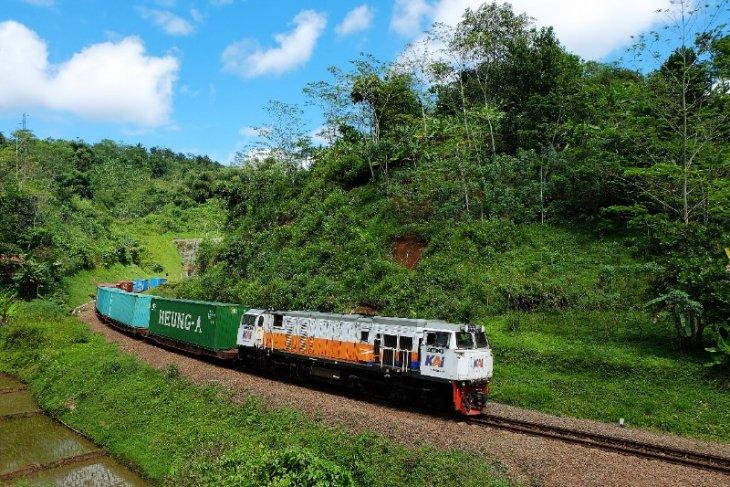 Kereta Api Sumut angkut 22.963 ton barang selama Ramadhan