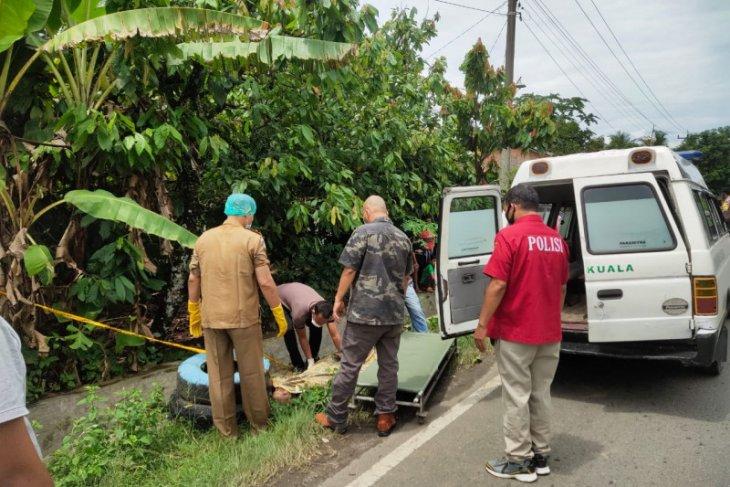 Warga Kuala Kabupaten Langkat temukan mayat dipinggir jalan