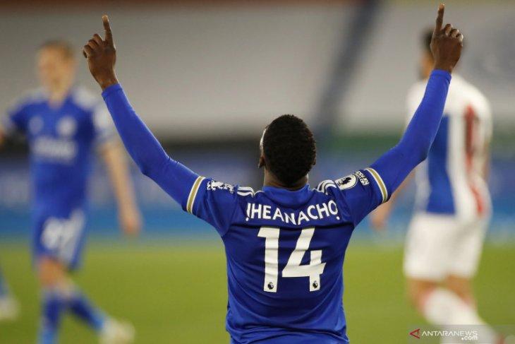Iheanacho antar Leicester taklukkan Palace 2-1