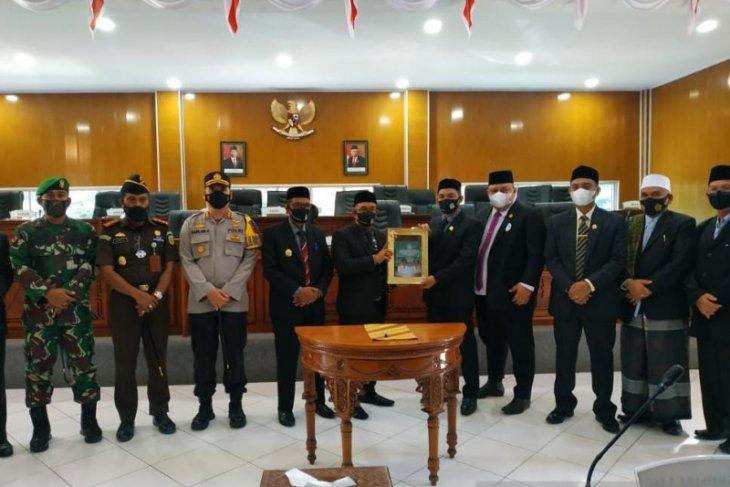 Bupati Aceh Jaya sampaikan LKPJ 2020, begini capaiannya