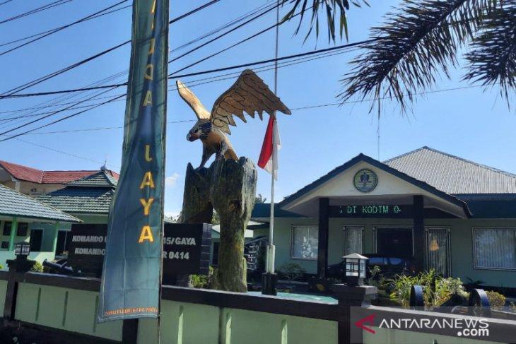 Awak KRI Nanggala 402 gugur, Kodim 0414 Belitung kibarkan bendera setengah tiang