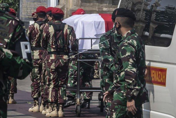 Pemakaman jenazah Kabinda Papua