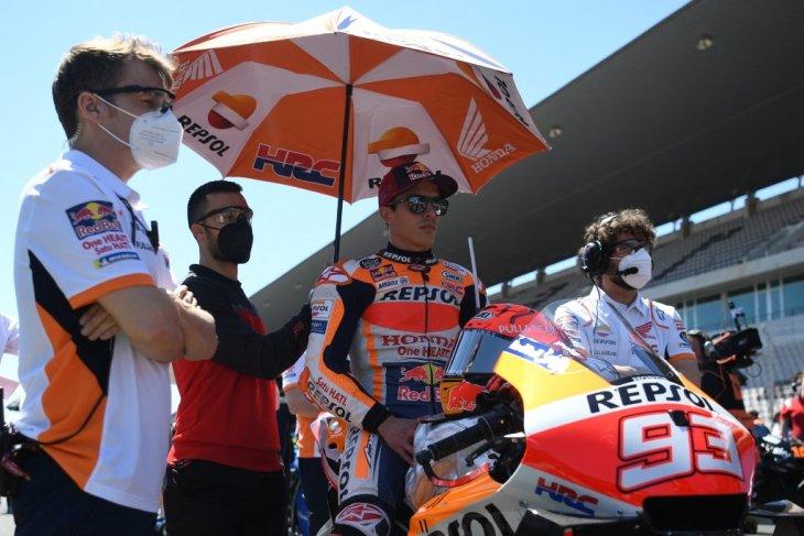 Kondisi fisik Marquez  bakal diuji lagi di Jerez