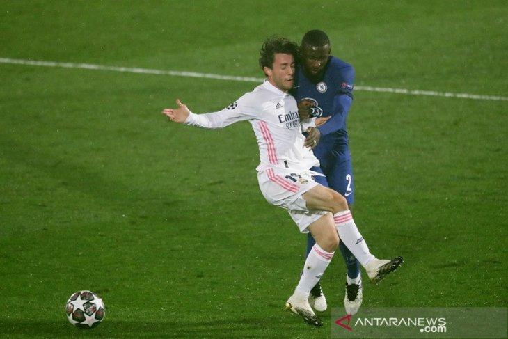 Liga Champions: Chelsea petik bekal gol tandang penting seusai imbangi Real Madrid 1-1