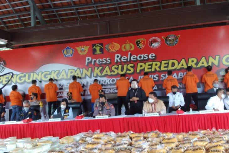 Polri ungkap kasus 2,5 ton narkotika jenis sabu-sabu di Aceh