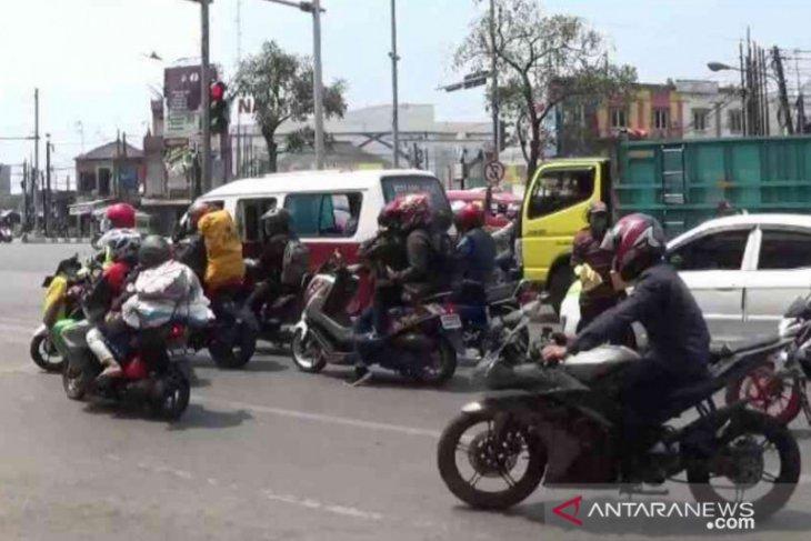 Penjagaan jalur mudik di Bekasi mulai diperketat