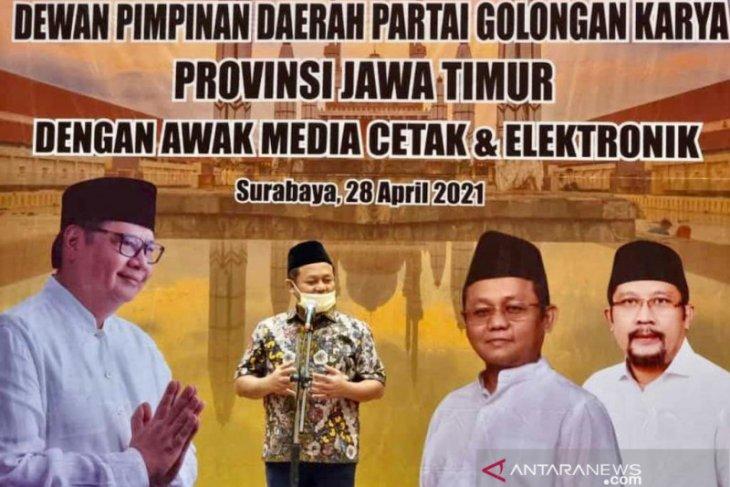 Ketua Golkar Jatim usul Khofifah dampingi Airlangga Hartarto pada Pilpres 2024