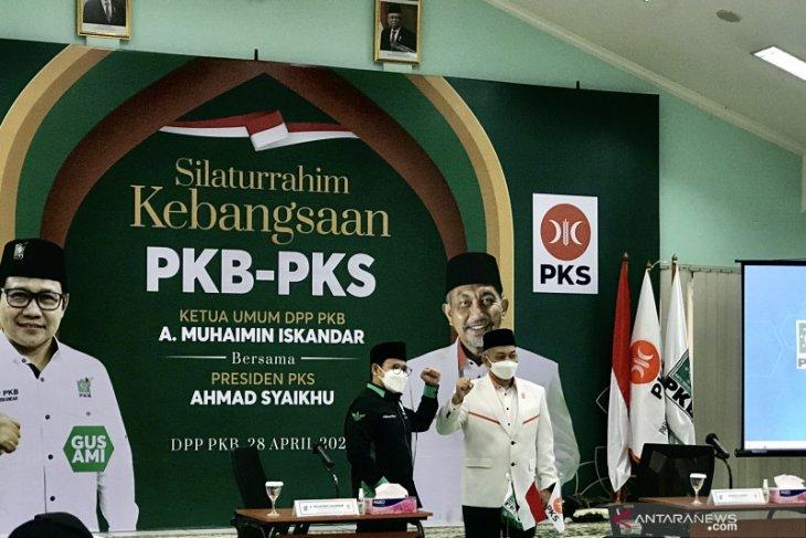 Pengurus PKS bersilaturahmi ke PKB