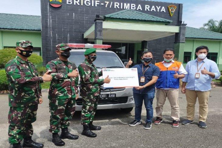 BRI Kanwil Medan salurkan bantuan ambulans dukung program  kesehatan