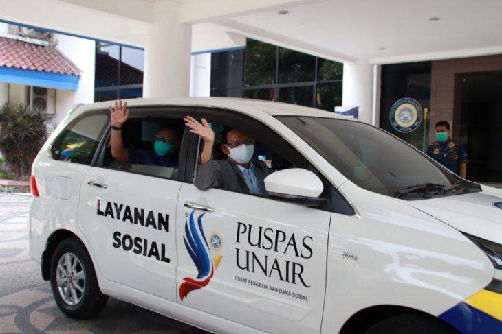Unair luncurkan fasilitas mobil layanan sosial yang dilengkapi GeNose