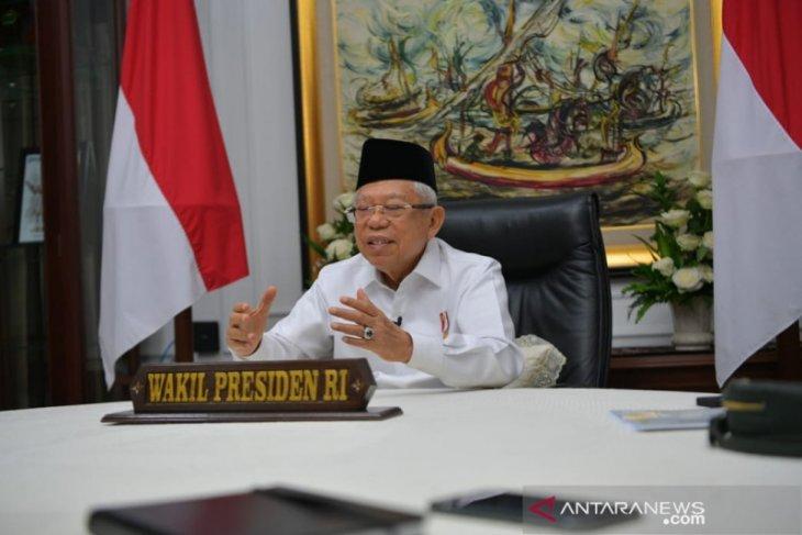 Wapres: Pembatasan mudik tingkatkan penjualan daring produk halal