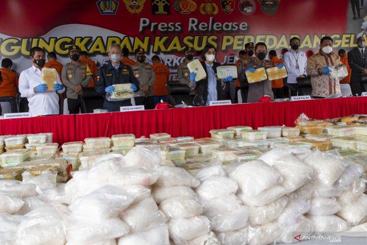 Kapolri: Kasus narkotika 2,5 ton dikendalikan dari Lapas