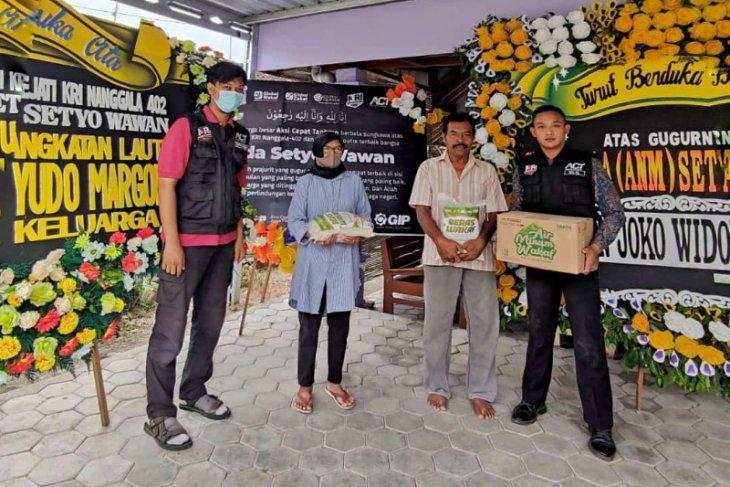 ACT Madiun salurkan bantuan untuk keluarga awak KRI Nanggala-402