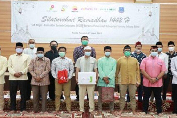 SKK Migas PetroChina-Pemkab Tanjabbar gelar Silaturahmi Ramadhan dan santuni 250 anak yatim