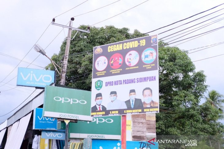 Baliho milik Polda Sumut di Padangsidimpuan salah cetak