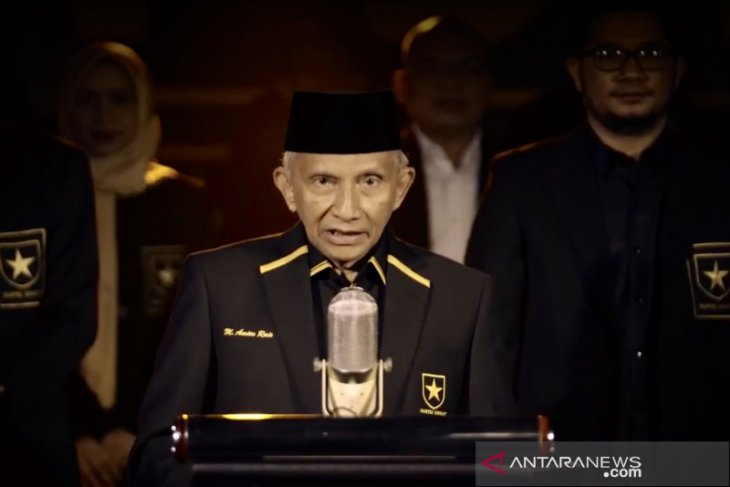 Amien Rais deklarasi pendirian Partai Ummat