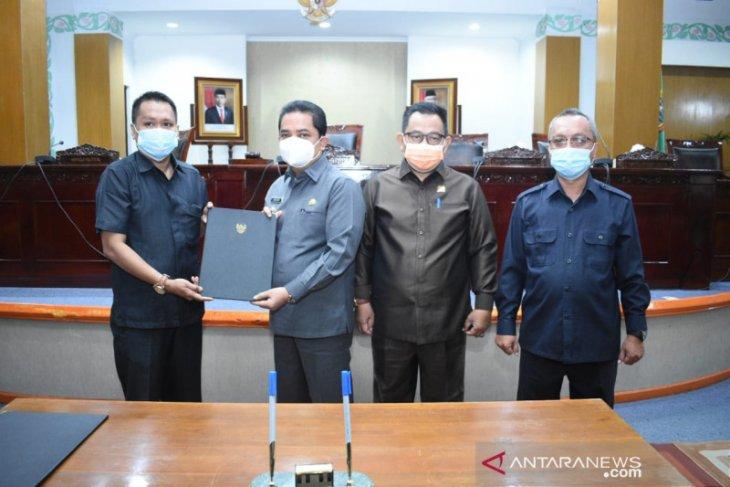 DPRD sampaikan rekomendasi LKPJ Wali Kota Pontianak 2021