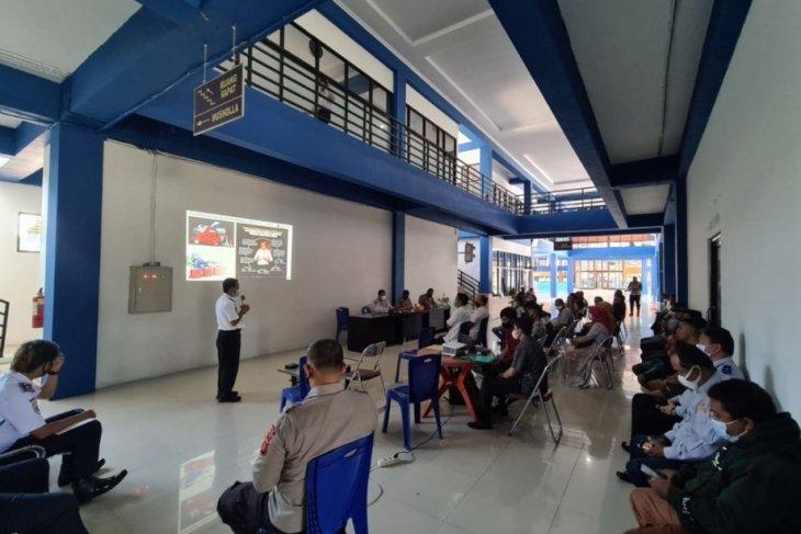 Dinas Perhubungan sosialisasikan penutupan perbatasan Gorontalo