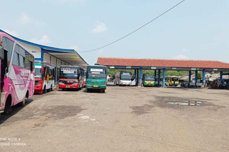 Terminal Bus Mandala Rangkasbitung Lebak tutup 6-17 Mei 2021