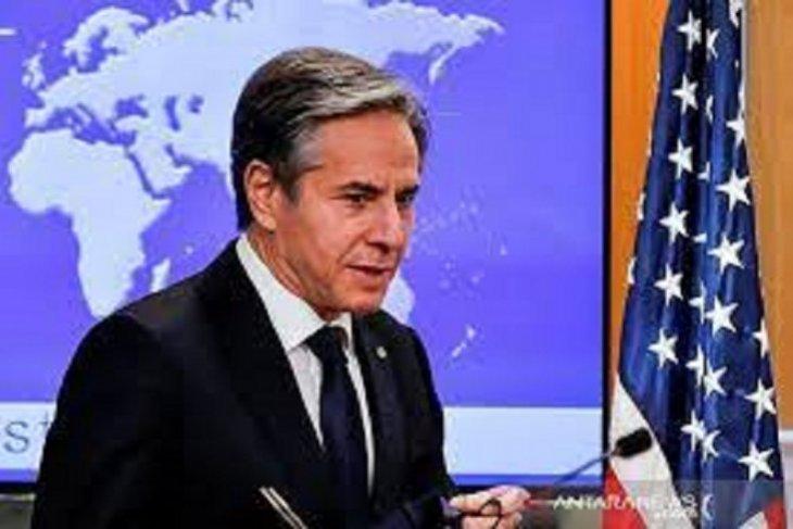 Blinken diskusikan  situasi Gaza dengan menlu Qatar, Mesir, Arab Saudi