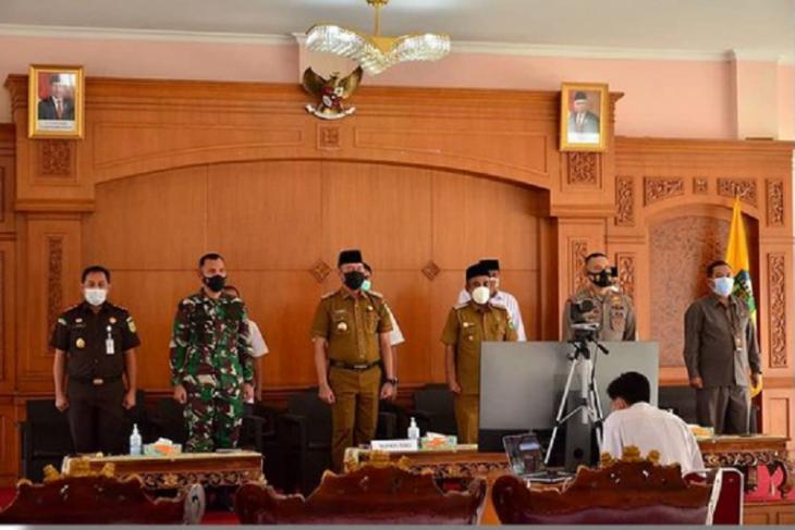 Bupati Tebo ikuti Rakor Kepala Daerah se-Indonesia