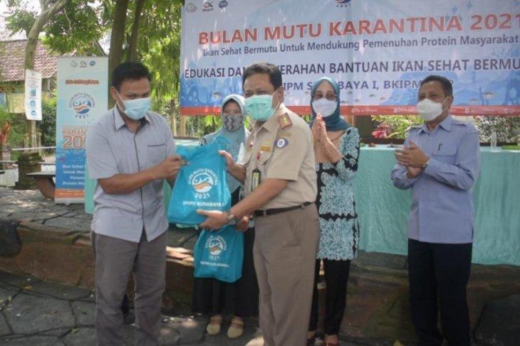 BKIPM Surabaya I sebut ikan baik untuk menjaga imunitas tubuh