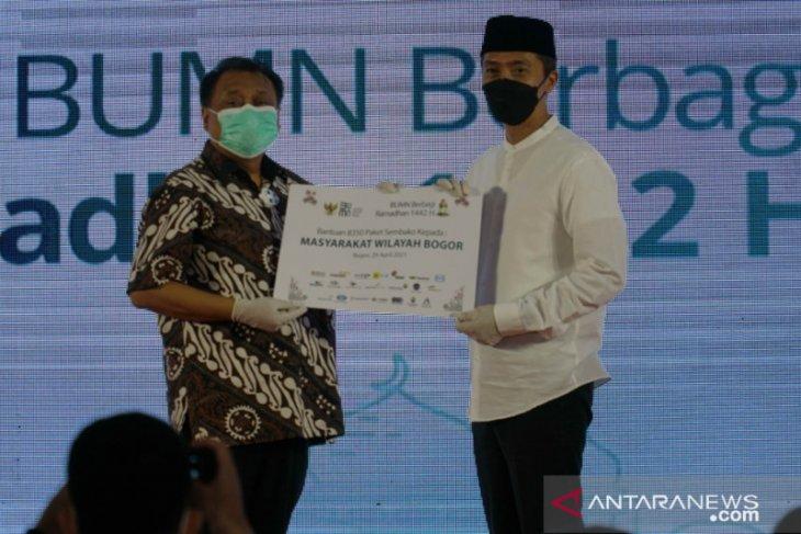 Dedie A Rachim apresiasi kegiatan BUMN Berbagi di Kota Bogor