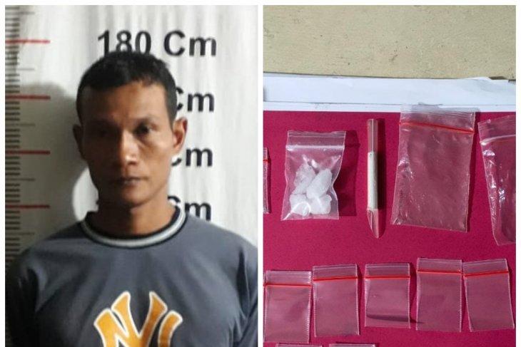 Polsek Pangkalan Berandan tangkap Edi miliki sabu-sabu 5,7 gram