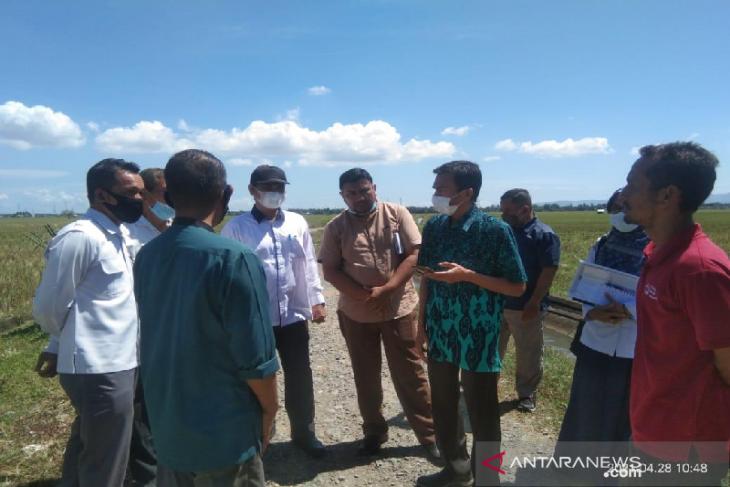 Kementan survei lokasi kawasan food estate Siebreuh Aceh Besar