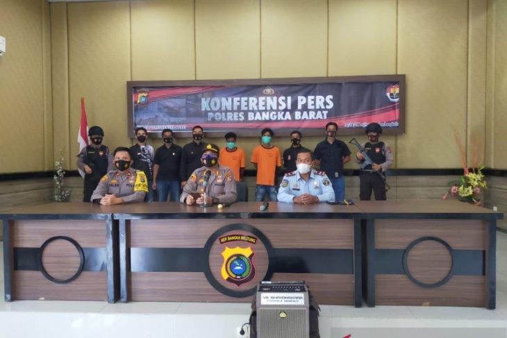 Polisi Bangka Barat ringkus dua buronan Rutan Mentok