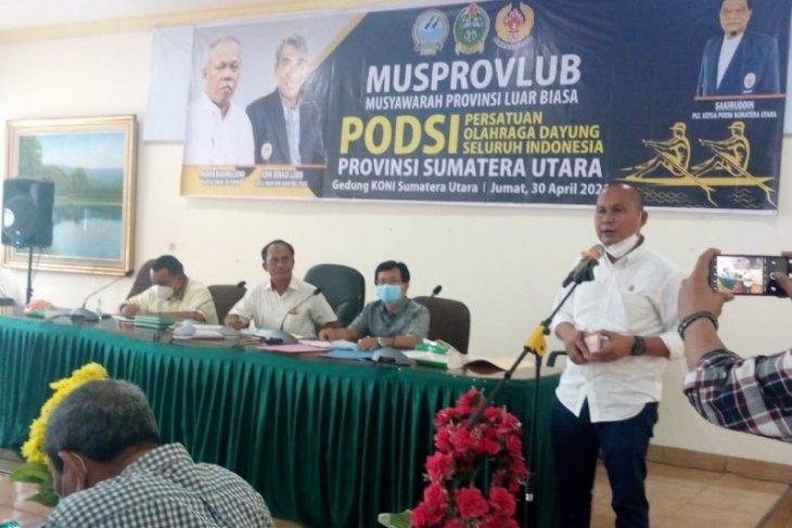 Rahmansyah Sibarani terpilih jadi Ketua Umum PODSI Sumut