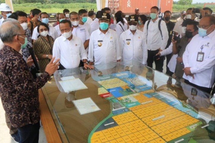 Menteri Investasi/BKPM RI kunker ke KEK Sei Mangke Simalungun