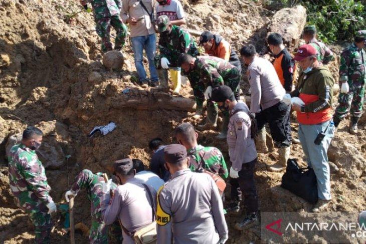 Update longsor di PLTA Batang Toru, BPBD: Tiga korban ditemukan tewas