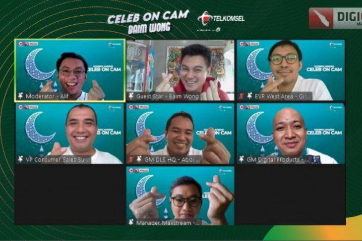 Semarakkan Ramadhan, Telkomsel gelar Celeb on Cam ngobrol seru bareng Baim Wong