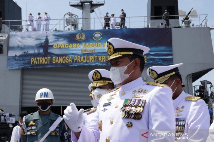 TNI upayakan evakuasi KRI Nanggala dari kedalaman laut 838 meter