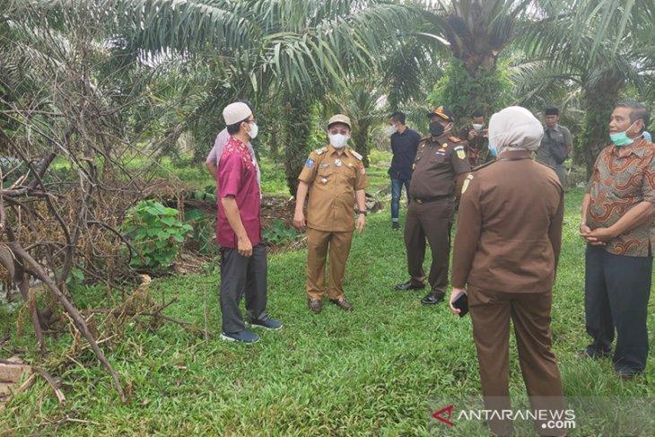 Bupati Mukomuko Tinjau Lokasi Pembangunan Alun-Alun