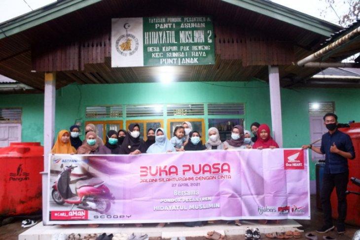 Astra Motor Kalbar buka puasa bersama Ponpes Hudayatul Muslimin