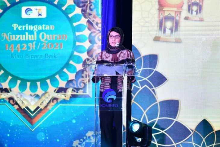 Kominfo ajak warganet bicara baik saat bulan Ramadhan