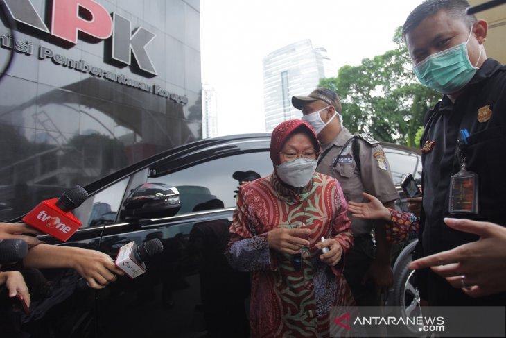 Mensos Risma lapor KPK soal 21 Juta data ganda penerima bansos dinonaktifkan